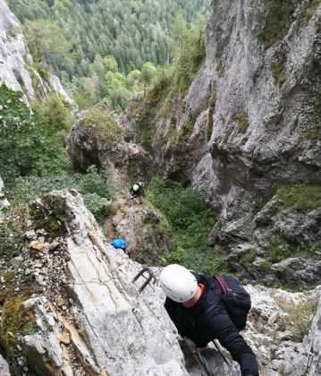 Via ferrata a Bakonyban